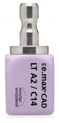 IPS E.MAX CAD LT (Basse Translucidité) C14  La boîte de 5, inLab LT C14 A-D  42-1841