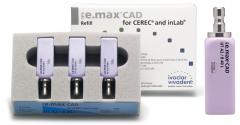 IPS E.MAX CAD HT (Haute Translucidité) B40L La boîte de 3, Lab HT B40L A-D 42-2378