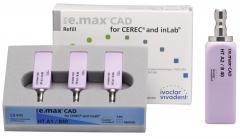 IPS E.MAX CAD HT (Haute Translucidité) inLab B40 La boîte de 3, B40 A-D 42-1900