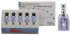 IPS e.max CAD Abutment Solutions MO (Opacité Moyenne) 14 IPS e.max CAD CEREC/inLab MO A14L (5) 42-2347