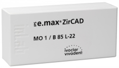 IPS E.MAX ZIRCAD MO (Opacité Moyenne) B85L La boîte de 1 42-3035
