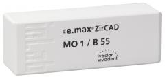 IPS E.MAX ZIRCAD MO (Opacité Moyenne) B55 La boîte de 1 42-3017