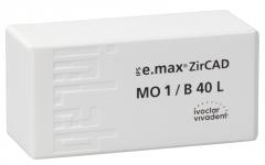 IPS E.MAX ZIRCAD MO (Opacité Moyenne) B40L La boîte de 3 42-1300