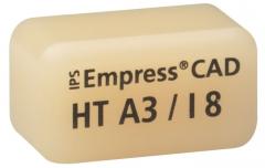 IPS EMPRESS CAD HT (Haute Translucidité) I8 La boîte de 5, I8 A-D 42-1334