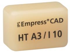 IPS EMPRESS CAD HT (Haute Translucidité) I10 La boîte de 5, I10 A-D 42-1344