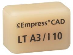 IPS EMPRESS CAD LT (Basse Translucidité)  I10 La boîte de 5, I10 A-D 42-1375
