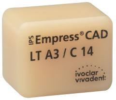 IPS EMPRESS CAD LT (Basse Translucidité) C14 La boîte de 5 C14 A-D 42-1393