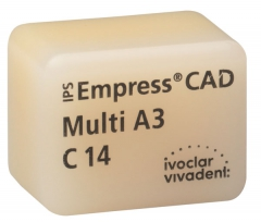 IPS EMPRESS CAD MULTI La boîte de 5 C14 42-1419