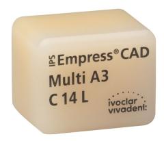 IPS EMPRESS CAD MULTI La boîte de 5 C14L 42-1424