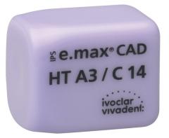 IPS E. MAX CAD HT (Haute Translucidité) C14  La boîte de 5, inLab HT C14 A-D  42-1882