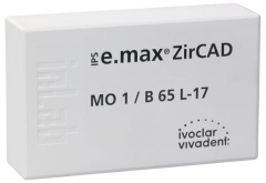 IPS E.MAX ZIRCAD MO (Opacité Moyenne) B65L La boîte de 1 42-3030