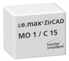 IPS E.MAX ZIRCAD MO (Opacité Moyenne) C15 La boîte de 25 42-3010
